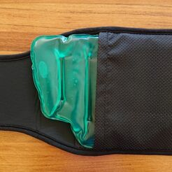Back and body instant pack in belt